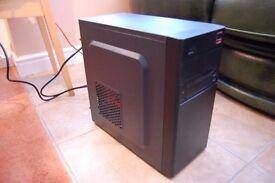Budget Gaming PC With GPU (Quad Core 3.1Ghz, rx 460 2gb, 1 Tb Hdd, 4gb ddr3)