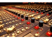 Professional audio recording from £150 a day! Perfect for small bands, musicians and audio books