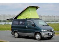 MAZDA BONGO 6 SEATS 3 BIRTH CAMPERVAN FACTORY FITTED KITCHEN SINK COOLER PORTABLE GAS COOKER,