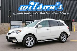 2013 Acura MDX AWD! LEATHER! SUNROOF! REAR CAMERA! MEMORY DRIVER