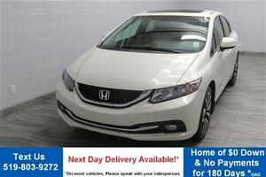 2013 Honda Civic TOURING SEDAN! NAVIGATION! LEATHER! SUNROOF! BL