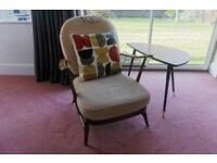 VINTAGE ERCOL: 203 WINDSOR ARMCHAIR, Golden Dawn - Complete