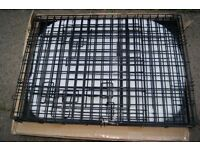 "Ellie-Bo 30"" Medium Deluxe Dog Puppy Pet Cage Carrier Crate In Black"