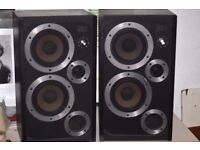 Wharfedale E30 Speakers - 50W 8Ω - One driver needs attention