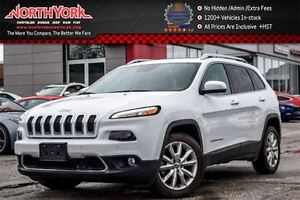 2016 Jeep Cherokee Limited|SafetyTec,TechPkgs|Sunroof|Nav|RearCa