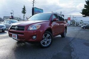 2012 Toyota RAV4 2-YEAR FREE POWERTRAIN WARRANTY | SPORT