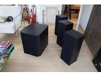 Bowers & Wilkins Speakers and Subwoofer