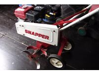 snapper rotovator been recently refurbished inc brand new engine 6.5hp ohv