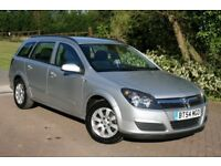 VAUXHALL ASTRA ESTATE, 2005, ONLY 65,000 MILES, SERVICE HISTORY, CAM REPLACED, 12 MONTHS MOT
