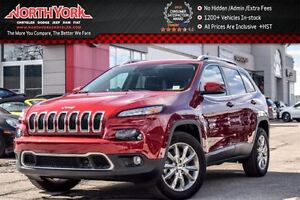 2016 Jeep Cherokee Limited 4x4 SafetyTec,Tech,Luxury,Trailer Tow