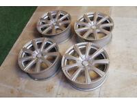 "Genuine Chrysler 300C 18"" Borbet TS Alloy wheels 5x115 Silver Alloys Dodge Magnum"