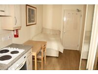 GOOD SIZE STUDIO FLAT***AVAILABLE NOW**CALL NOW***