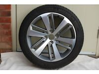 """18"""" Icauna Alloy wheel (one) for Peugeot 3008 or similar NEW and unused"""