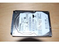 "TOSHIBA 2.5"" 320GB SATA INTERNAL HARDDISK FOR LAPTOP"