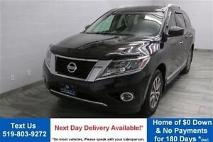 2013 Nissan Pathfinder SL 4WD w/ LEATHER! SUNROOF! HEATED SEATS!