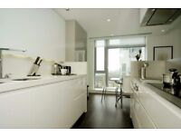 Stunning 2b Flat balcony with fun leisure facilities available now in Pan Peninsula Square, London