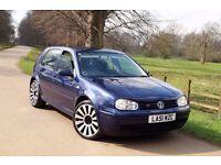 """VW GOLF MK4 1.9 GT TDI 130bph* 12-Mot* 6- speed* SatNav* Full Service* 18""""alloys #Bargain"""