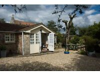 Holiday cottages set in peaceful gardens