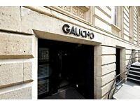 Griller wanted at Gaucho Leeds