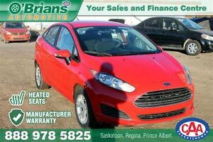 2015 Ford Fiesta SE - Mfg Warratny Heated Seats