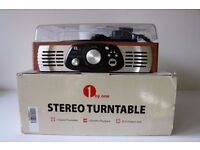 Stereo Turntable with Built in speakers and USB/MP3 playback and recording