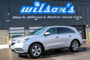 2015 Acura MDX SH-AWD 7 PASS! LEATHER! ROOF! REAR CAMERA! HEATED