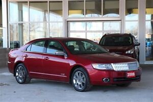 2008 Lincoln MKZ AWD Luxury Sedan Local 1 Owner Trade w. only 70