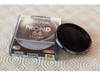 HOYA 58mm PRO-ND64 Filter (6-Stops)