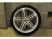 Audi TT genuine 19 inch Segment alloy wheels in excellent condition