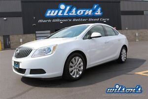 2016 Buick Verano CX! LEATHER TRIM!  POWER PACKAGE! ALLOYS! CLIM