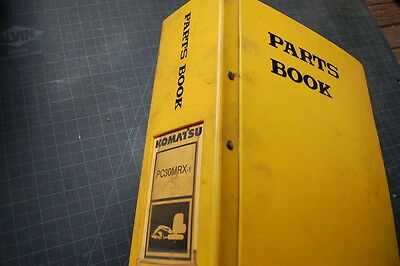 Komatsu Pc30mrx Excavator Parts Manual Book Catalog List Shop 1999 Trackhoe Oem