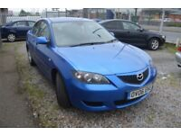 2006 MAZDA 3 TS D MOT UNTIL SEPTEMBER 2018