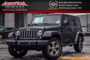 2017 Jeep WRANGLER UNLIMITED NEW Car Loaded Sahara|4x4|Connect,L