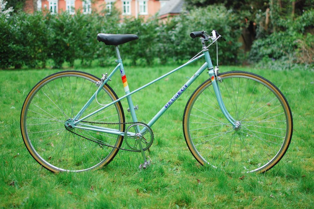 ladies/womens peugeot riviera single speed retro/vintage bike