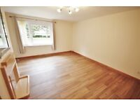 Recently redecorated, 2 bedroom, unfurnished flat with private garden in Corstorphine -available NOW