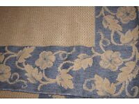 Sisalo Oriental Weavers Rug in Blue and Beige 160 x 230