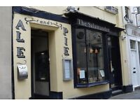 Assistant Manager & Supervisor required for iconic Bath City centre pub/restaurant