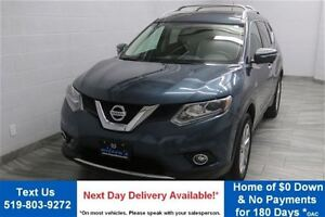 2014 Nissan Rogue SL w/ LEATHER! SUNROOF! NAVIGATION! HEATED SEA