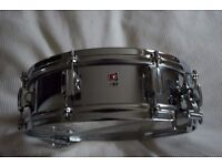 """Premier Model 11 Royal Ace COB snare drum 14 x 4"""" - Small badge - '60s - England"""