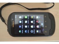 Seals/Memory Map Android GPS TX3 rugged smartphone