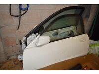 Free Scrap Metal 2 Car doors, exhaust and other parts.