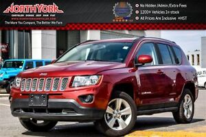 2016 Jeep Compass North|4x4|Sat.RadioPkg|Bluetooth|KeylessEntry|