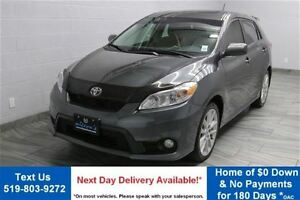 2013 Toyota Matrix XRS 2.4 5-SPEED w/ SUNROOF! POWER PACKAGE! AL