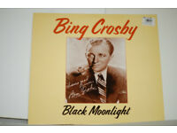 Bing Crosby Black Moonlight LP in excellent condition.