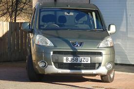 2009 Peugeot Partner Tepee S 1.6 HDI (full service history)