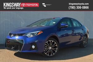 "2016 Toyota Corolla ""S"" Sport Technology Package"