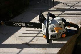 Ryobi PCN4545 petrol chainsaw with 18 inch bar