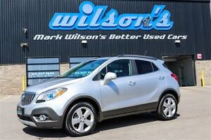 2015 Buick Encore AWD! LEATHER! SUNROOF! REAR CAMERA! HEATED STE