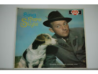 Bing Crosby Rare Style Album. Record in excellent condition. Record sleeve in quite good condition