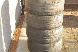 Bmw run flat summer tyres - Mitchelin/Goodyear/Pirelli
